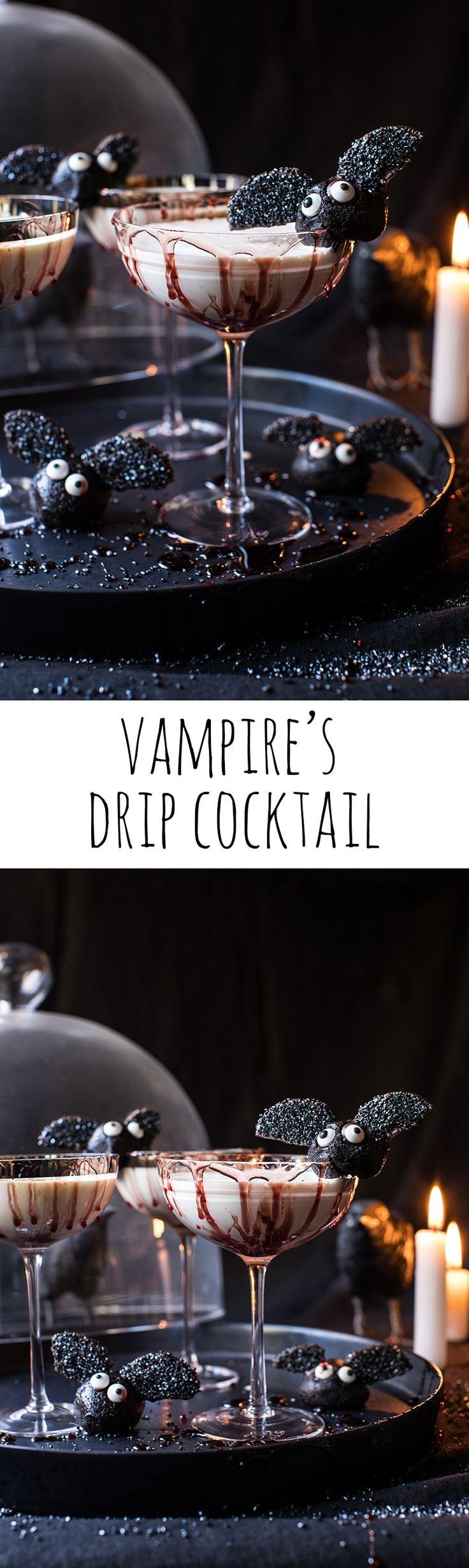 Vampire's Drip Cocktail | halfbakedharvest.com @hbharvest