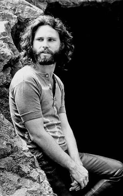 Jim Morrison. So much more to this guy than the looks.                                                                                                                                                     More