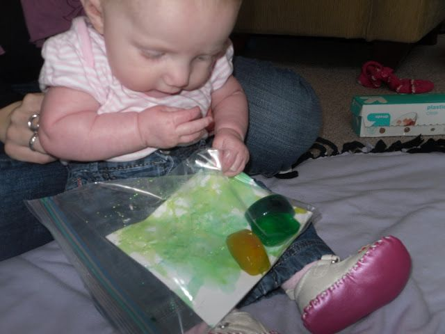 Paint and Prozac: Babies CAN do crafts!