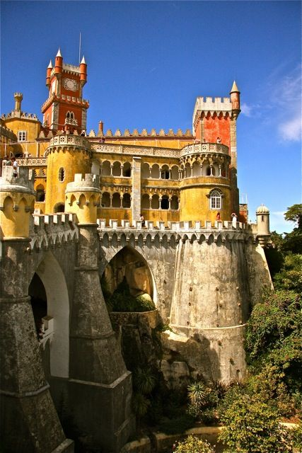 (via Palácio da Pena, a photo from Lisboa, South | TrekEarth)  Sintra, Portugal