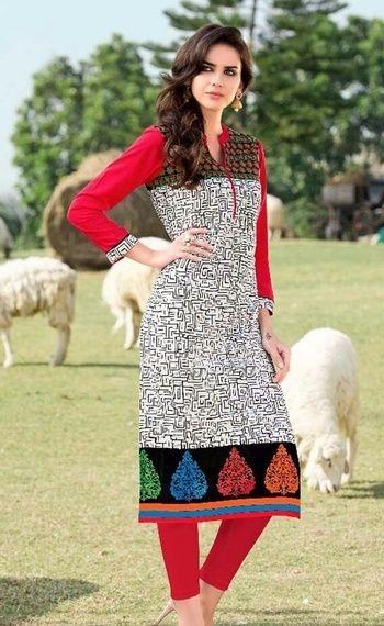 #Welcome Summer # #Kurti Love❤# Get elegant cotton kurtis To grab contact.