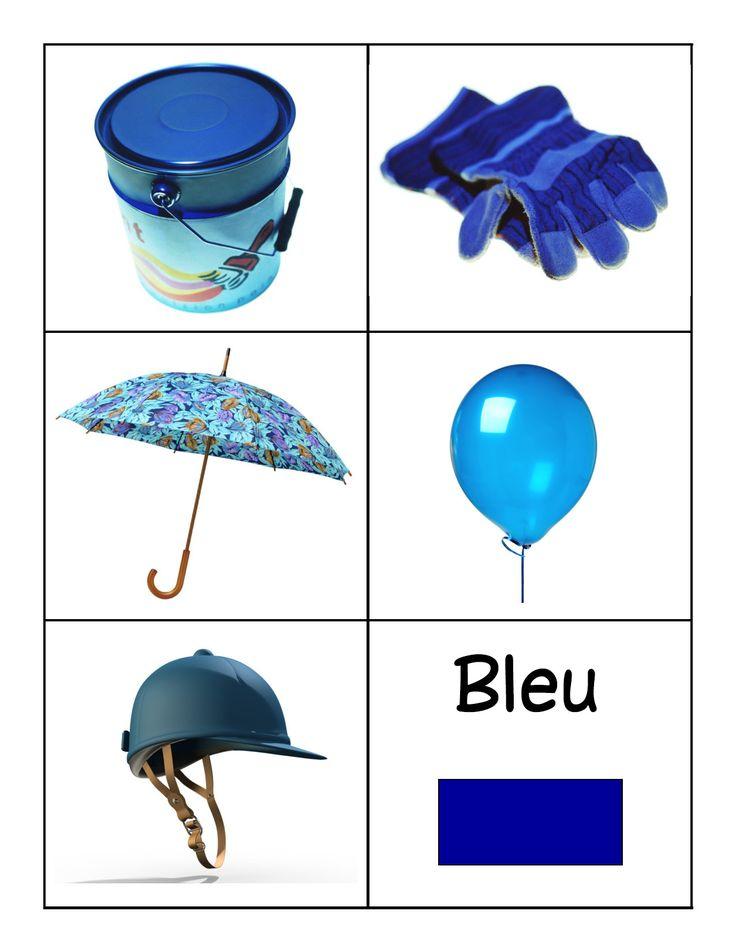 kleuren leren blauw