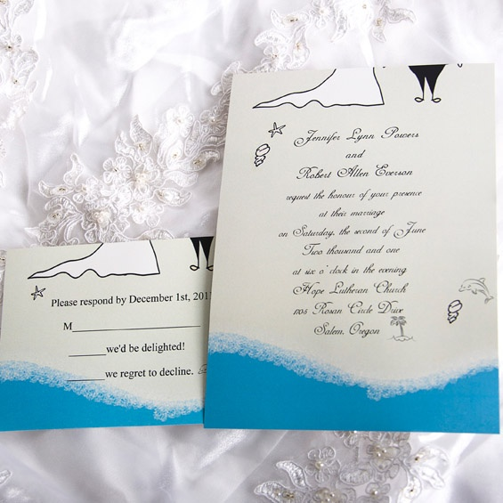 beach wedding invitation 17 best images about wedding invitations on 1590