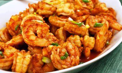 Honey Ginger Prawns Recipe