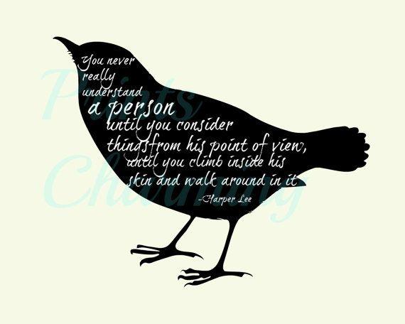 To Kill a Mockingbird Kindness Quote 8x10 5x7 by PrinsCharming