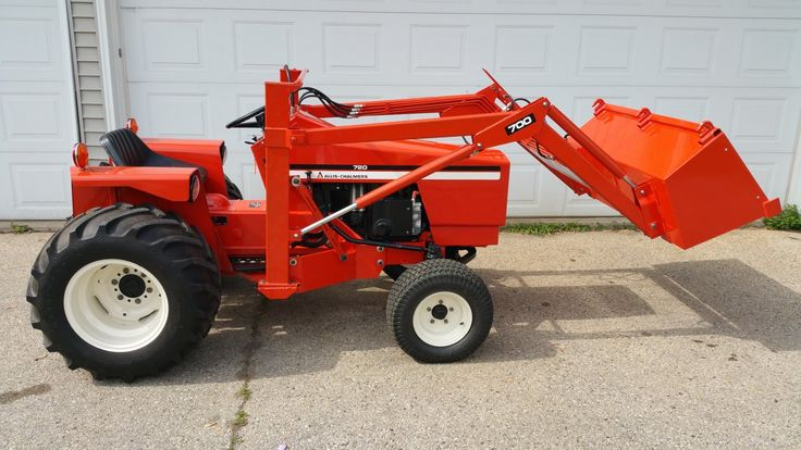 Used Garden Tractor Loaders : Allis chalmers garden tractor and loader a c