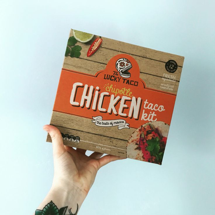 Chipotle Chicken Lucky Taco Kit!