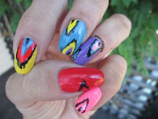 Glam-madam: Re-starting the nail game: 30-33: Crumpet's 33DC = pattern x3