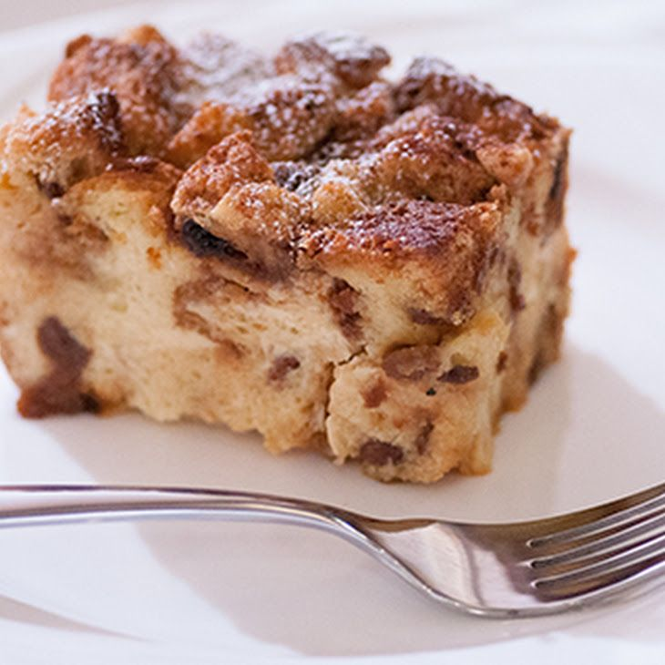 Panettone Bread Pudding - don't pass this one up. Every year I received a panettone for Christmas and made this bread pudding with it. It has a lot of eggs but works out to be less than 2 eggs per serving. It's delicious! Feel free to add chopped apples or chocolate chips; use your imagination.