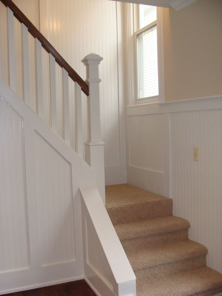 Stairs With Bead Board Northville House Pinterest Stairs