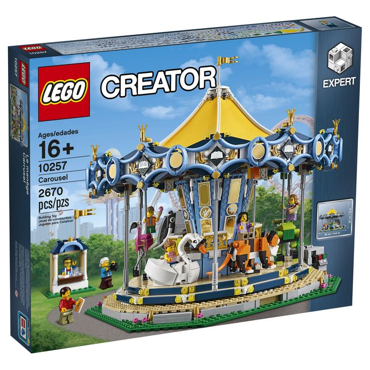 Lego 10257 Creator Carousel Attraction 2670 pieces 7 minifigures New Pre Sales