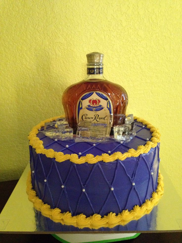 Crown Royal cake