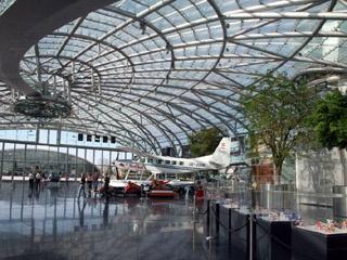 Hangar 7 in Salzburg - RedBull Museum