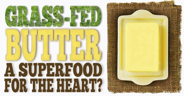 Grass-fed Butter is a Superfood For The Heart <3 via @eatlocalgrown
