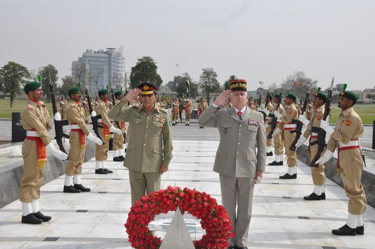FRENCH ARMY GENERALS | ... General Bertrand RACT-MADOUX, Chief of Staff, French Army at Yadgar-e