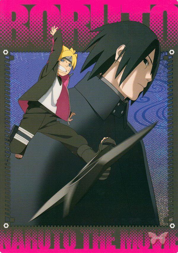 Naruto Pencil Board - Naruto Project Boruto: Naruto the Movie Shitajiki - Naruto Sasuke (Sasuke Naruto and Boruto)