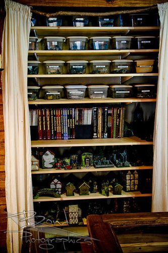 gaming room closet storage LARP resource tool how to tutorial instructions | Create your own roleplaying game material w/ RPG Bard: www.rpgbard.com | Writing inspiration for Dungeons and Dragons DND D&D Pathfinder PFRPG Warhammer 40k Star Wars Shadowrun Call of Cthulhu Lord of the Rings LoTR + d20 fantasy science fiction scifi horror design | Not Trusty Sword art: click artwork for source
