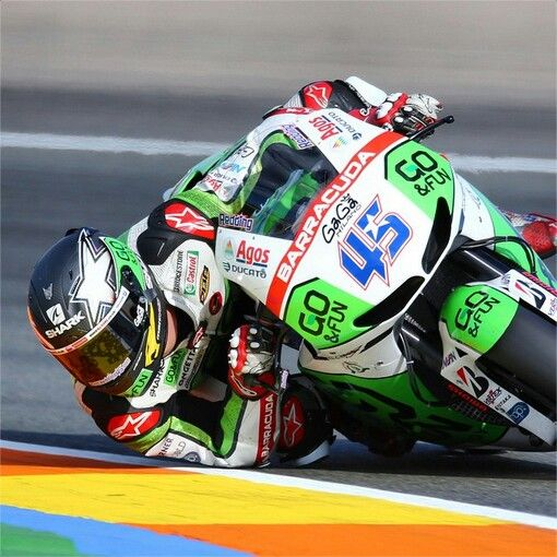 Scott Redding honda motogp elbow down