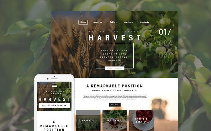 Harvest WordPress Theme
