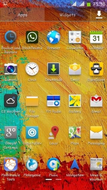 Note 3 Style Rom for ultrafone 701HD
