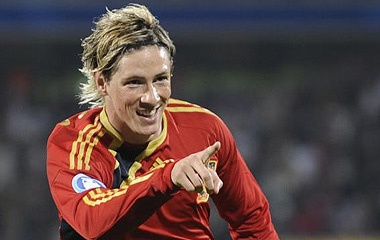 """Fernando Torres: """"Spain will win the Euro 2012""""  The striker, ready to show his best tonight against South Korea"""