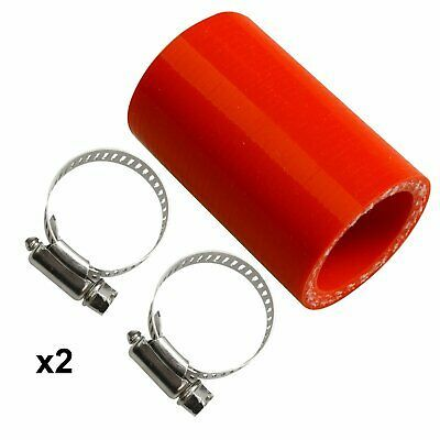 Orange Yamaha Banshee rubber exhaust pipe clamps all years fmf,dg ATV Factory