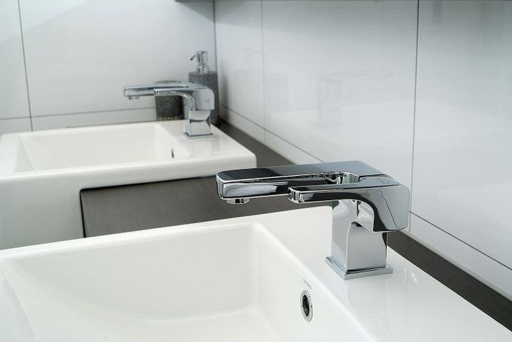V-line Basin Mixer is a modern minimalists dream. Bold, industrial lines- with an edge.