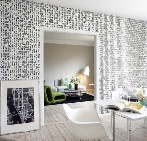Unique Wallcoverings for a Modern Home | Paper & Stitch