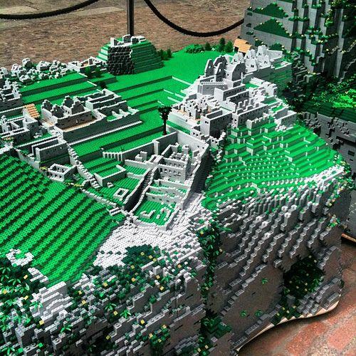 LEGO Machu pichu  #LEGO #Machu Pichu #LEGO Architecture http://www.Adopt-A-Brick.com/