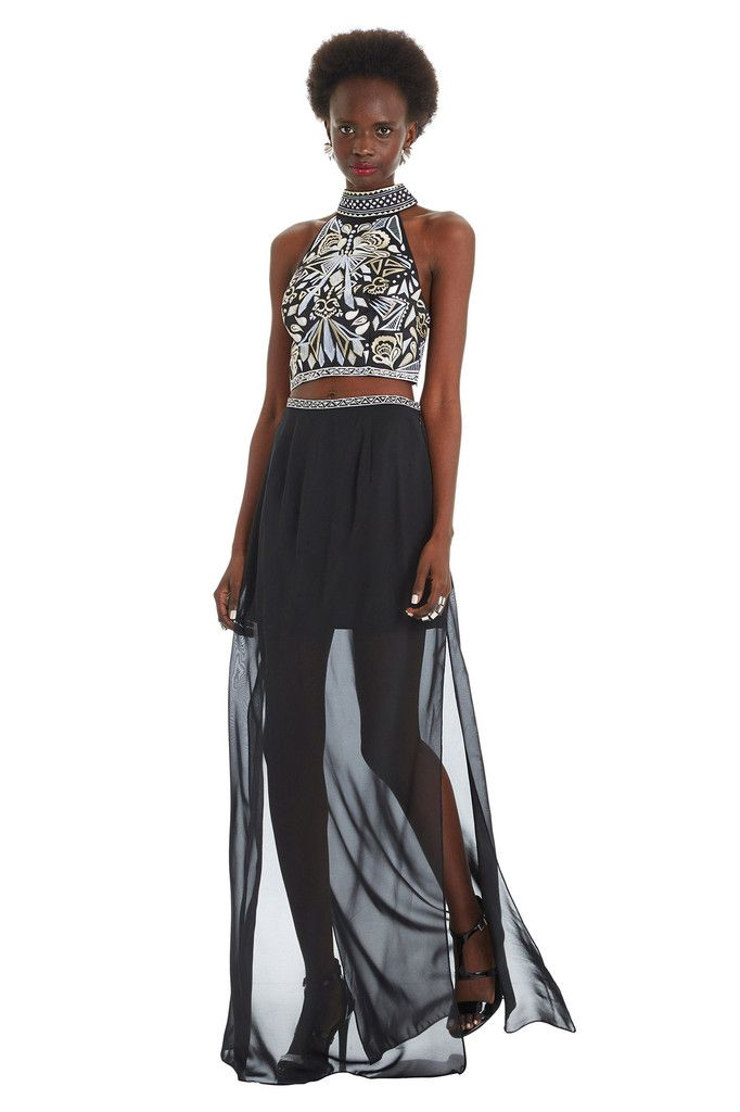 Aztec Two-Piece Dress http://shop.nylon.com/collections/whats-new/products/aztec-two-piece-dress #NYLONshop