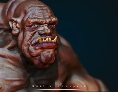 "Check out new work on my @Behance portfolio: ""Ogre"" http://be.net/gallery/47056531/Ogre"
