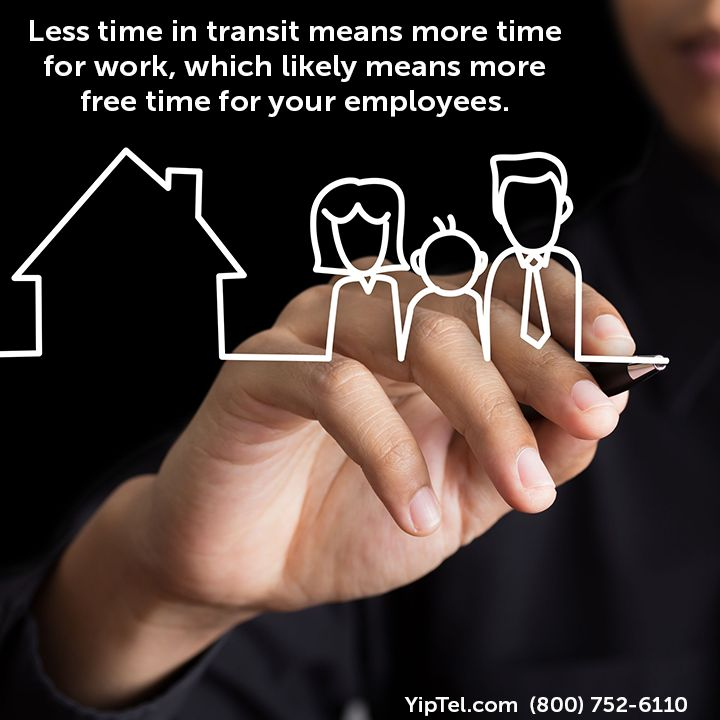 #Opting for #videoconferencing means that #company #employees will spend a lot less time #traveling to meet with #clients or other companies. Less time in transit means more time for #work, which likely means more #freetime for your employees. #callustoday #wewillmakebusinesseasier #YipTel #Phone #VOIP #Internet #Video #mobility #national #communication #HIPAA