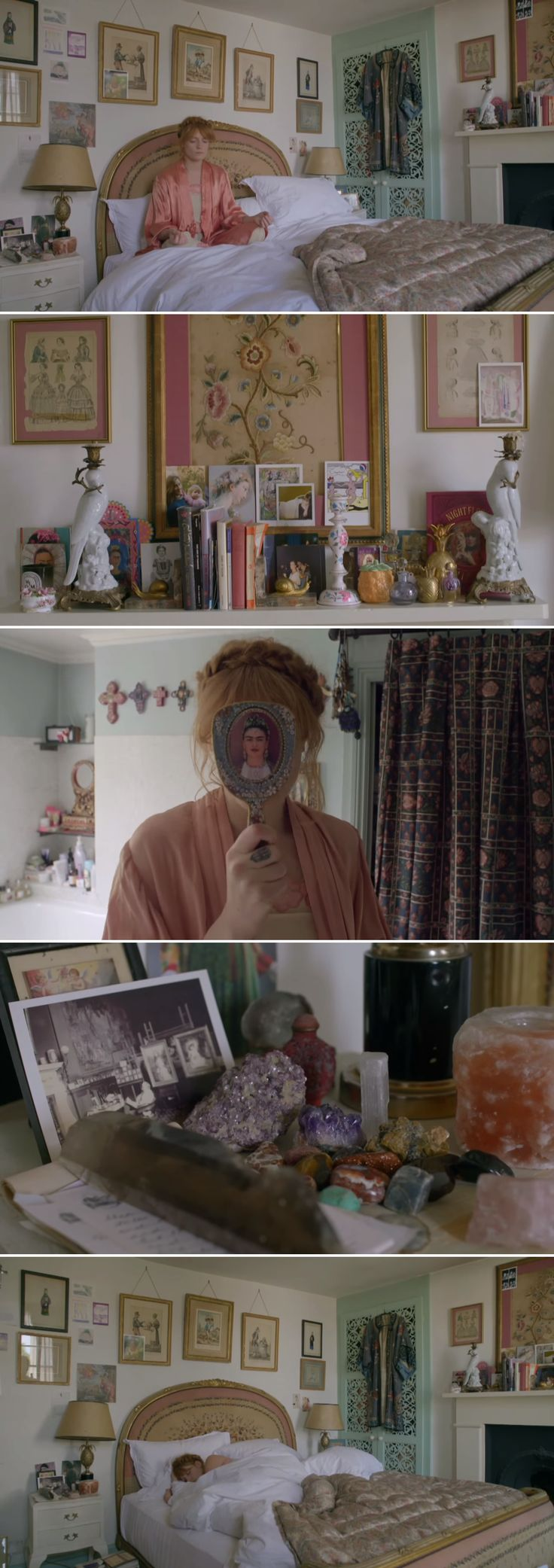 Inside Florence Welch's home - via NOWNESS