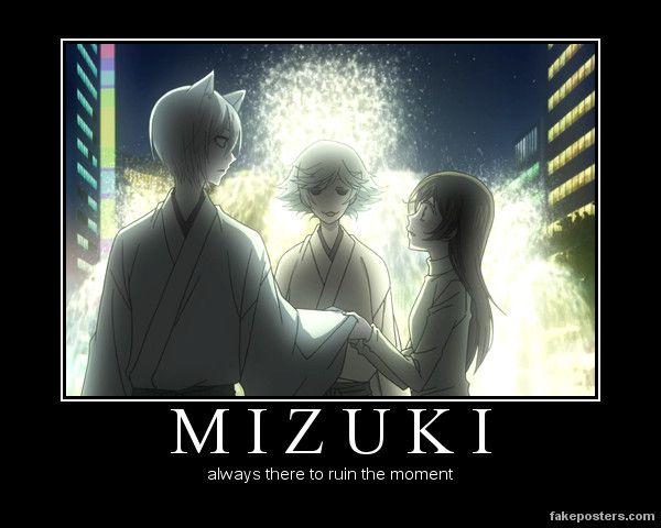"""Kamisama Hajimemashita - """"Third Wheel""""Mizuki  XD"""