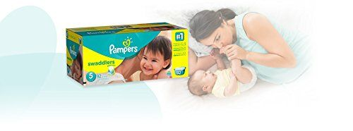 Pampers Swaddlers Disposable Diapers Size 5, 92 Count ...