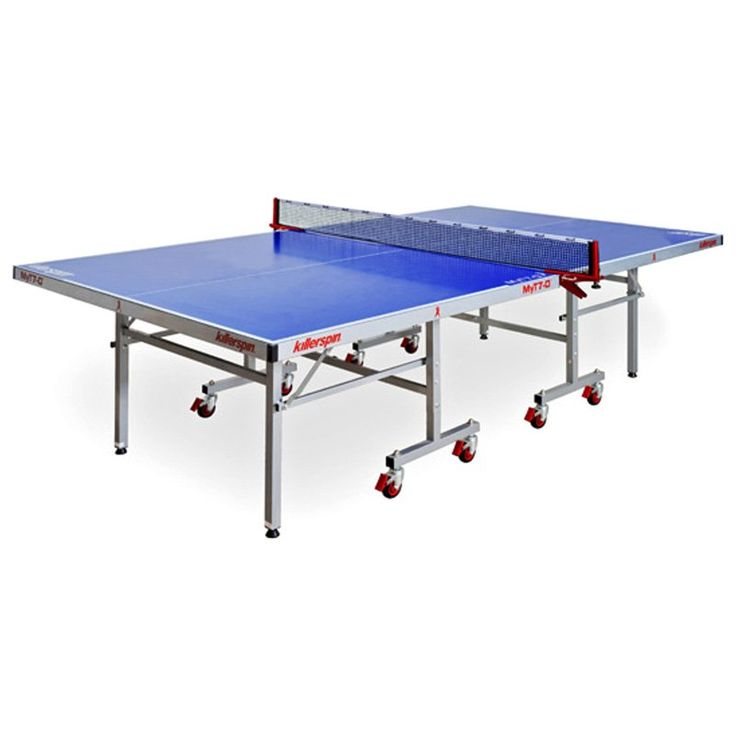 Have to have it. Killerspin 363-03 MyT7 Outdoor Table Tennis Table - Blue - $949.99 @hayneedle.com