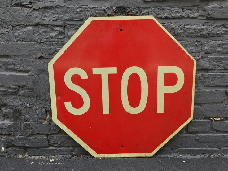Vintage Stop Sign Small    ...Please save this pin.  Because for vintage collectibles - Click on the following link!.. http://www.ebay.com/usr/prestige_online