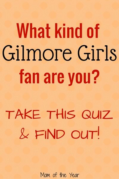 Are you a Gilmore Girls fan? You need to take this quiz! Test your knowledge of our favorite girls with this Gilmore Girls quiz! With the reboot coming up, now is the perfect time to bone up on your Gilmore Girls trivia! I never knew the answers to question 13 or 14!