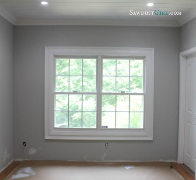 Image result for interior window moulding no sill