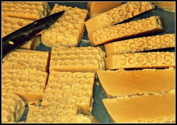 #sapone al miele #autoproduzione