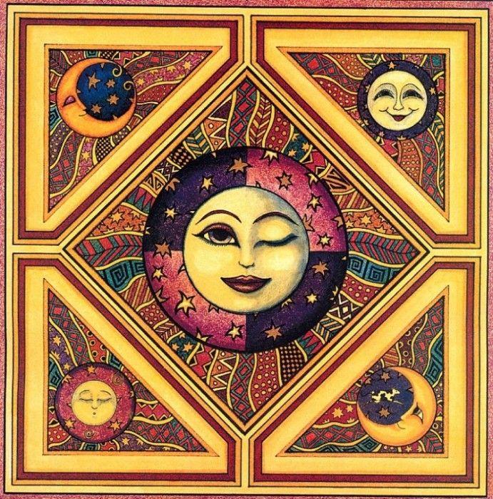 Солнце+Орнамент+Луна . Обсуждение на LiveInternet ...