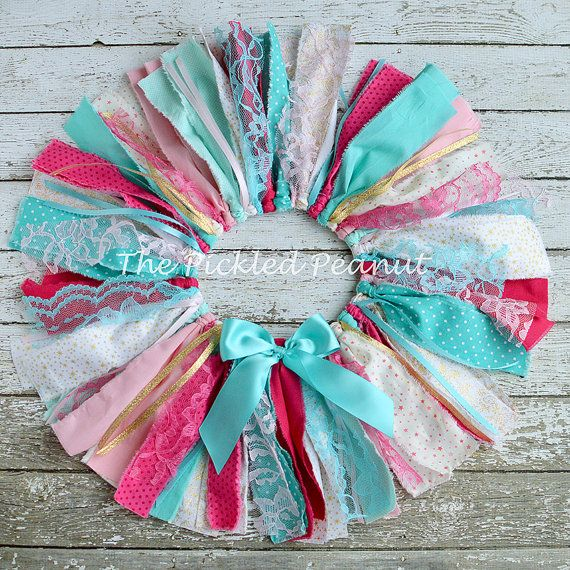 Pink Teal Gold 1st Birthday Outfit Baby Tutu por ThePickledPeanut