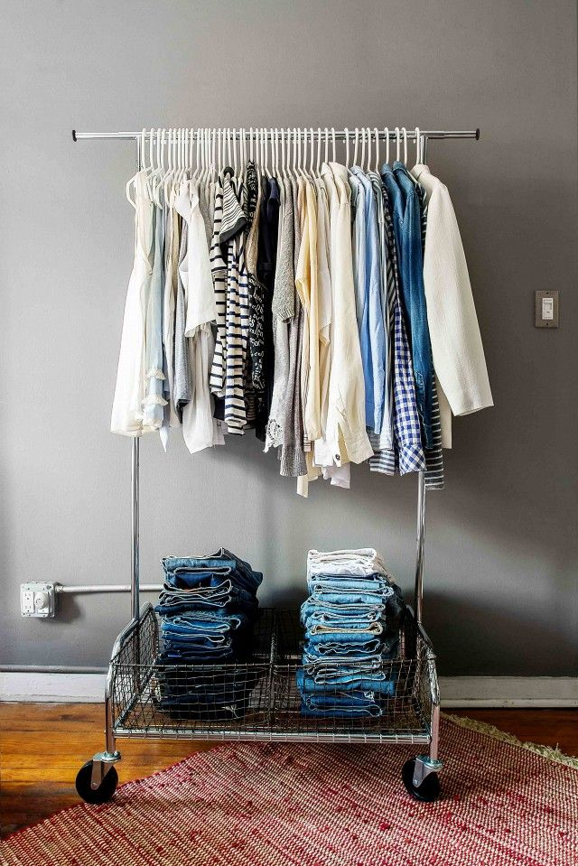 Closet Makeover: How I Made My Small NYC Space Feel Spacious via @WhoWhatWear