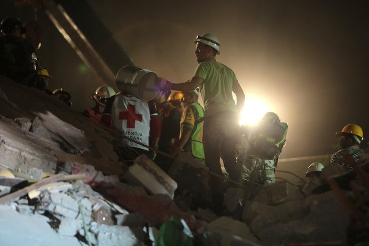 7.1 magnitude earthquake rocks Mexico City More than 200 people, including 21 schoolchildren, are dead after a magnitude 7.1earthquakerocked central Mexico on Tuesday afternoon, hitting on the 32nd anniversary of the biggest quake to strike the country's capital. Yesterday's earthquake was centered about 75 miles southeast of Mexico City and caused extensive damage, leveling at least 44 buildings, including homes, schools and office buildings, according to Mexican PresidentEnrique Pena...