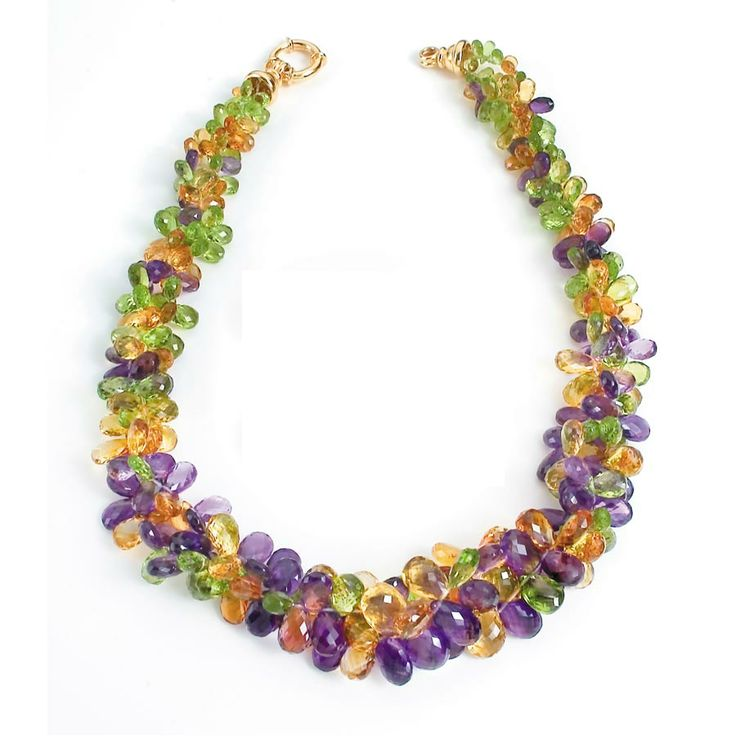 Citrine, Amethyst and Periodot at Scully and Scully