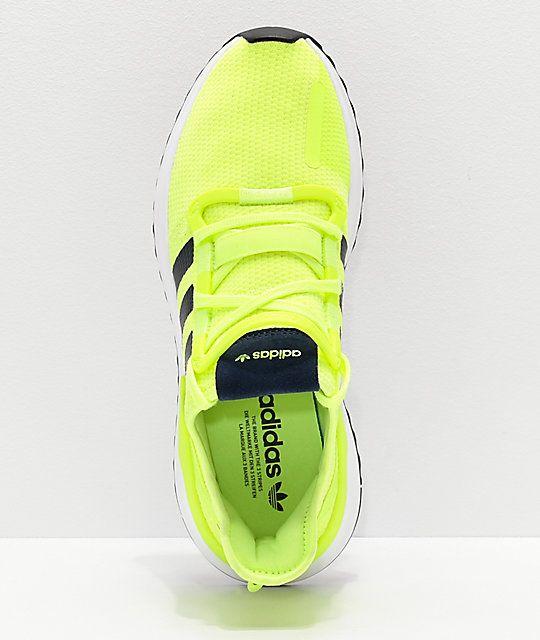 Run Path U Adidas White Highlighter Shoes Yellowamp; 2019 In qUzMpVS