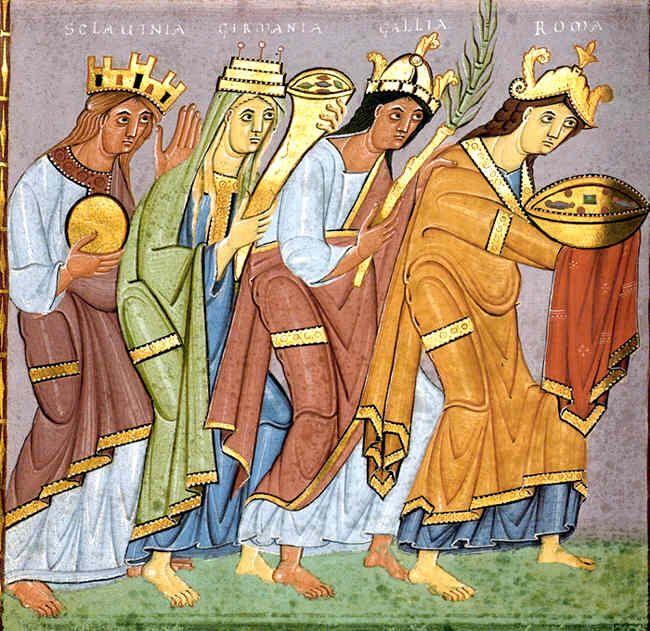 神聖ローマ帝国990年頃(オットー3世時代)の福音書