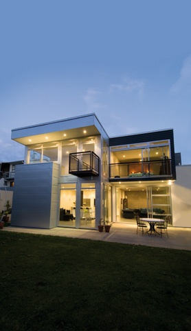 Onehunga, Auckland home built with Axxis® Steel for Framing. Architecture by Crosson Clarke Carnachan.