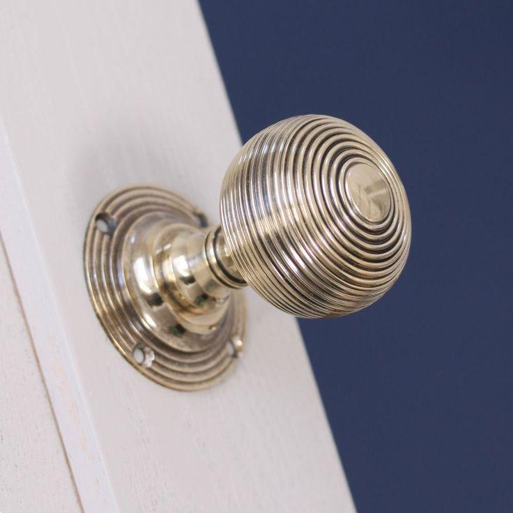 Beehive Door Knobs - Empire - Pair http://www.priorsrec.co.uk/empire-beehive-brass-door-knobs-/p-3-22-23-50