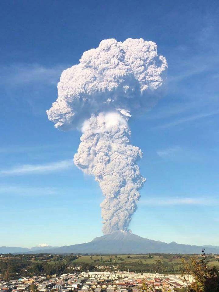 Calbuco, volcán. Abril 2015